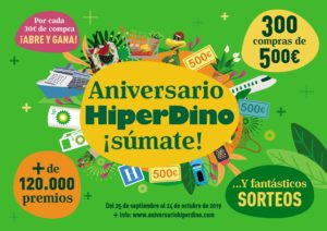Cartel Aniversario HiperDino