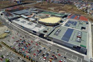 Instalación fotovoltaica tienda HiperDino CC Alisios