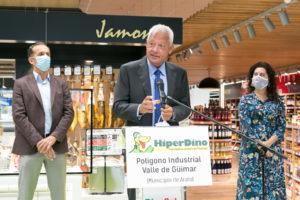 Javier Puga, consejero delegado de DinoSol Supermercados
