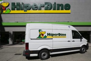 HiperDino adquiere 35 nuevos vehículos y amplía su flota de reparto