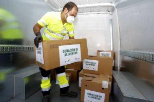 En el primer año de Alimentos conVida se han donado 400 toneladas de productos