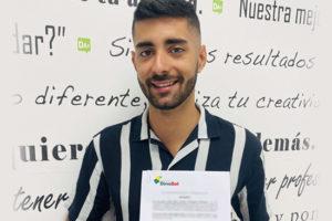 550x367 - Jedey Figueroa de Lanzarote ha sido uno de los beneficiarios de estas ayudas de la Fundación DinoSol