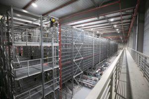 HiperDino inicia la automatización de su principal centro logístico